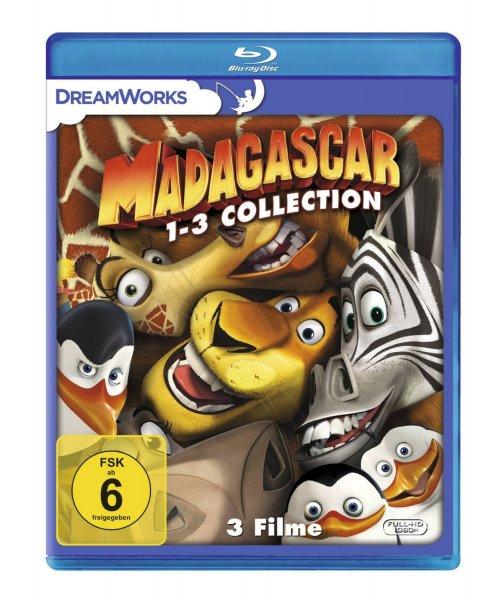 [Amazon Prime][Blitzangebot] Madagascar 1-3 Collection Blu-Ray 16,97€