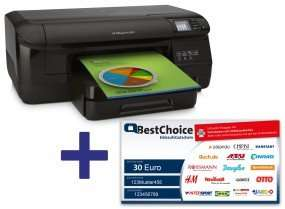 HP OfficeJet Pro 8100 CM752A + 30€ BestChoice Gutschein für 79,90 € @ Office Partner