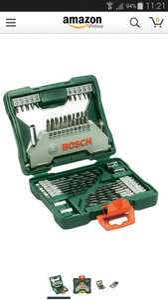 Bosch X- line Set 43 Teilig