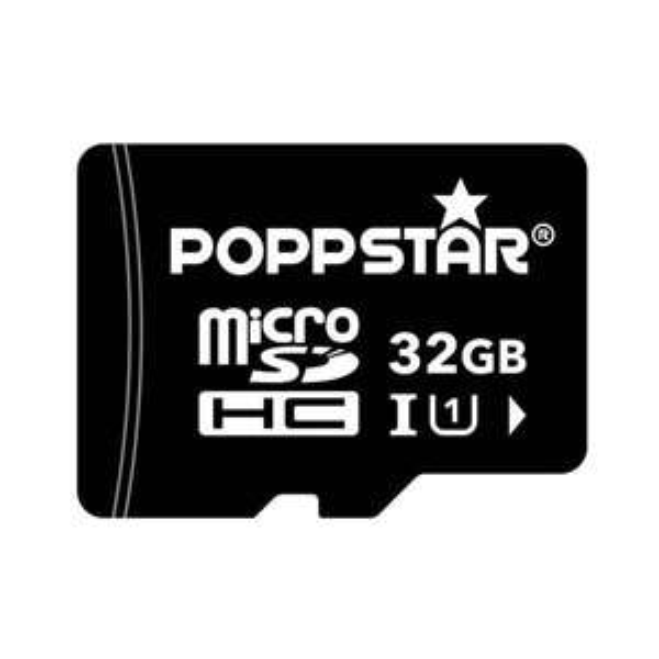 Poppstar microSDHC 32GB Class 10 Speicherkarte + SD-Adapter bei meinpaket.de 11,90 Euro
