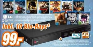 [Expert] LG BluRay Player BP440 + 10 Blu-Ray's
