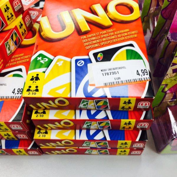 Kartenspiel UNO - Media Markt