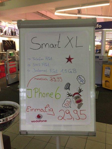 iPhone 6 für 29,95 im Smart XL