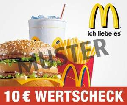 5 statt 10 Euro Gutschein für McDonalds bei Dailydeal [+O2-Karte zum ausprobieren]
