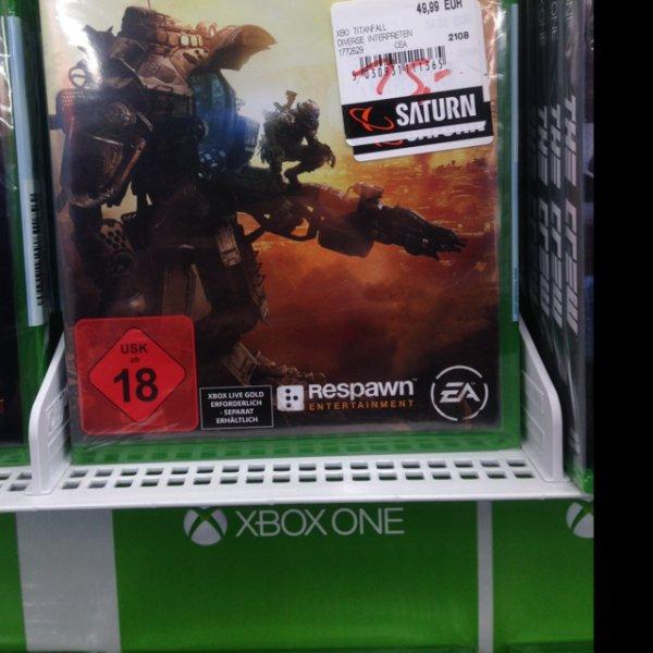 [lokal Saturn Solingen] Titanfall Xbox One 15€