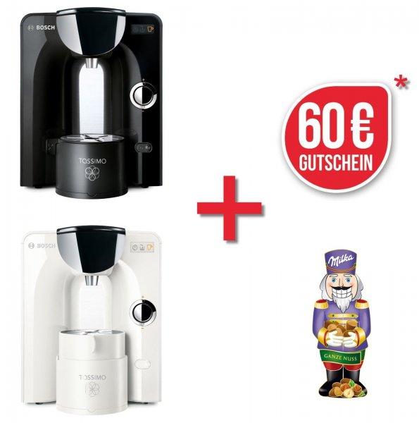 Ebay WoW : Bosch TASSIMO CHARMY + 60€ Gutschein* + Milka Schokolade Heißgetränkemaschine