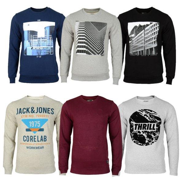 NUR HEUTE Hoodboyz Shop: Jack and Jones Sweatshirts 55% reduziert