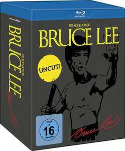 Bruce Lee - Die Kollektion - Uncut [Blu-ray] inkl. Vsk für 20,98 € > [media-dealer.de]