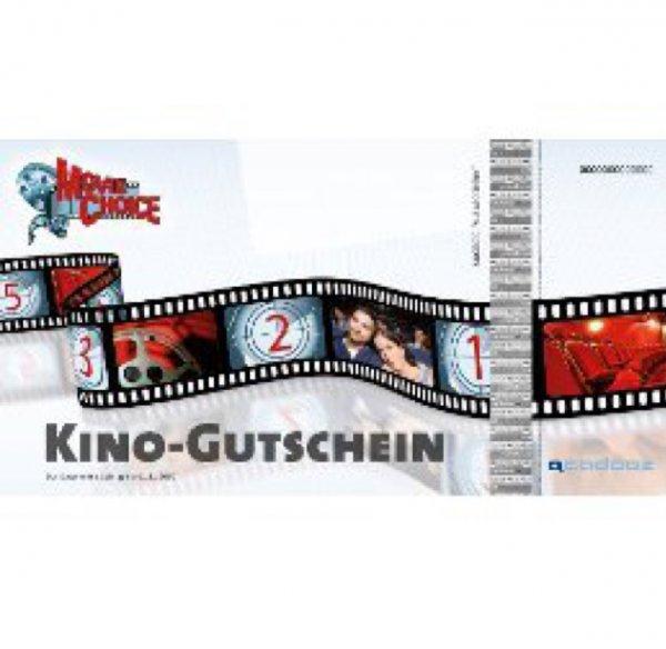 17,99€ (1799 Punkte) MovieChoice Kinogutschein für 2 + Snack & Softdrink [Payback]