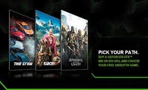 Top AAA-Game zum Kauf einer NVidia Grafikkarte gratis dazu