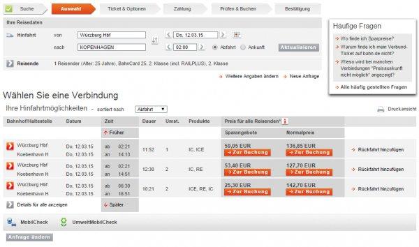 [Bahncard 25] bis zu 40% statt 25% auf Europa-Spezial. Inland: Hamburg/Berlin -> München 20% sparen