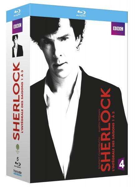 Sherlock - Season 1-3 - original Ton [Blu-Ray oder DVD] für ~26€ @Amazon.fr