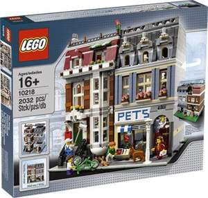 [Intertoys] LEGO 10218 Pet Shop / Zoohandlung für 124,99€