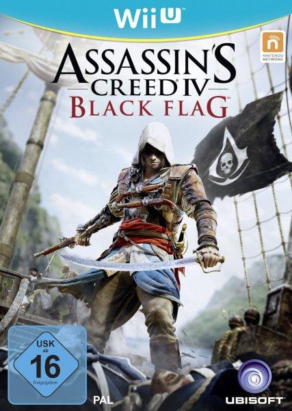 [Saturn] Assassin's Creed IV: Black Flag [WiiU] für 14,99€ (Abholung) bzw. 16,98€ (Versand)