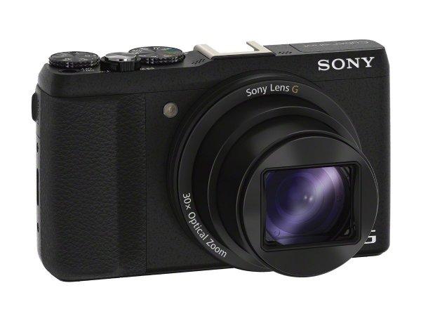 Sony DSC-HX60 Digitalkamera (Exmor R CMOS Sensor, 30-fach opt. Zoom, 7,5 cm (3 Zoll) LCD-Display, NFC, WiFi) schwarz inkl. 234,96 € > [amazon.fr]
