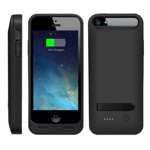 EasyAcc® MFi 2400mAh iPhone 5 5s Batterie Hülle Case,26,39€ Versand durch Amazon
