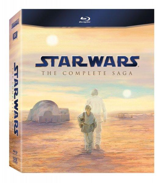Star Wars The (Complete) Collection Blu Ray Box bei Thalia für 56€