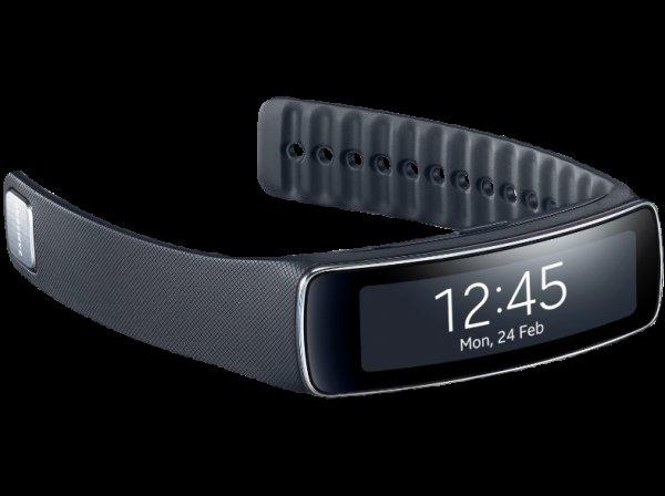 SAMSUNG Gear Fit schwarz ab 99 € @ Saturn.de (bei Abholung, sonst 103,99 €)