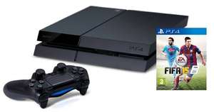 Playstation 4 + FIFA 15 für 374,60€ @Amazon.it