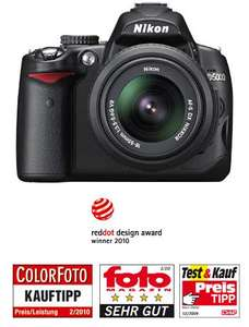 Saturn TV Werbung Nikon D 5000 + 18-55mm VR Objektiv für 399,-