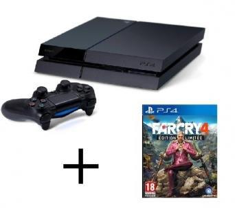 Playstation 4 500GB + Farcry4 limited edition für 392,72 €