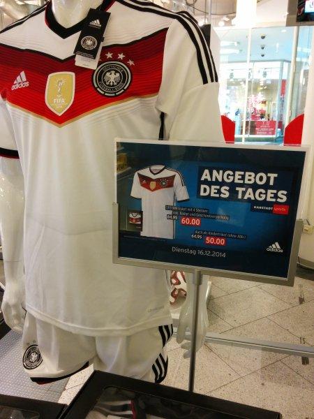Deutschland 4 Sterne Trikot ab 50€ Karstadt Sport Dortmund
