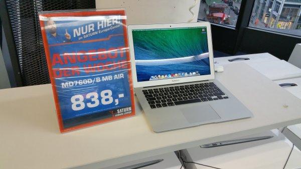"Macbook Air 13"" 760 / B für 838 €"