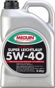 günstiges vollsynthetisches Öl Megol Meguin 5W40 Leichtlauf Liqui Moly