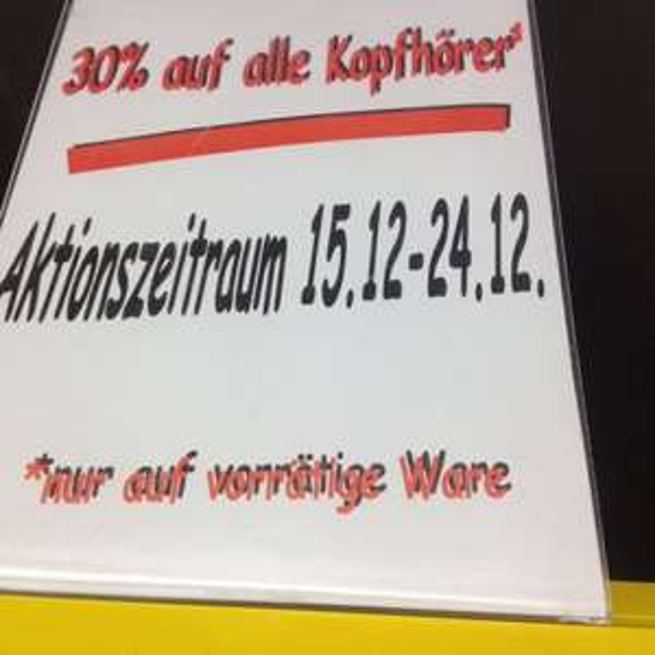 [lokal] Medimax Magdeburg (City Caree) 30% auf alle Kopfhörer