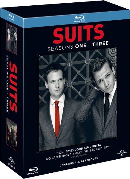 Suits - Staffeln 1-3 [11 x Blu-rays] inkl. Vsk 26,27 € > [zavvi.de]