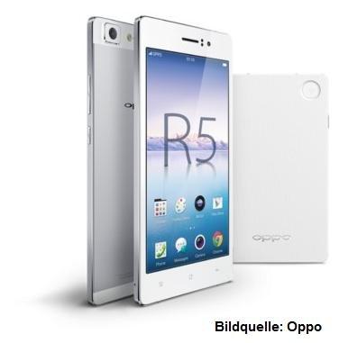359€ - Smartphone Oppo R5 + Powerbank (statt 458€)
