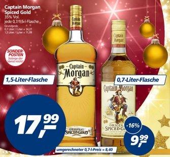 [Bundesweit Offline] Captain Morgan Spiced Gold 1,5L 17,99Euro Bei Real