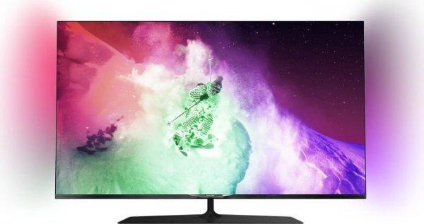 """Philips 49PUS7909 für 1009€ - 49"""" 4K TV mit 2 x Triple-Tuner und Android @iBOOD"""