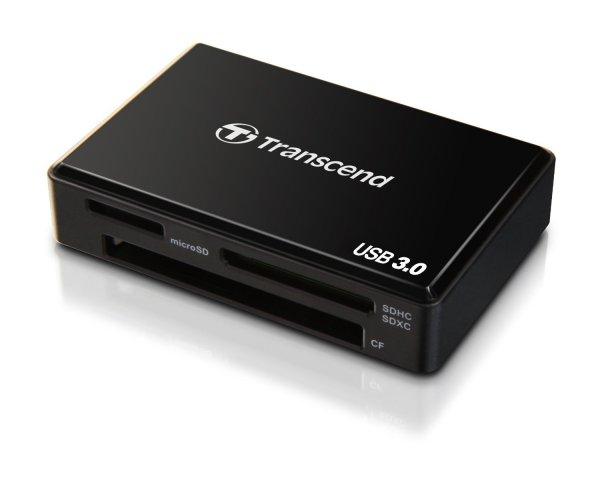 Amazon Blitzangebot: Transcend TS-RDF8K All-in-1 Multi Kartenlesegerät (SDHC/SDXC/MSXC/CF/MS) USB 3.0 schwarz 17.12.2014 ab 13:00