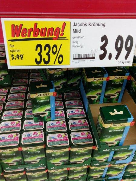 KAUFLAND - Jacobs Krönung für 3,99€ statt 5,99€