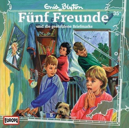 """Fünf Hörspiel-CDs """"Fünf Freunde und die gestohlene Briefmarke"""" zu gewinnen"""