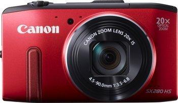 Canon Powershot SX280HS Rot - 177,99 €