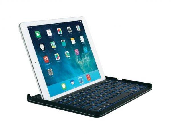 Kensington KeyCover™ Plus Hard Case + beleuchtete Tastatur für iPad® Air und Air2 für 18,99 Euro