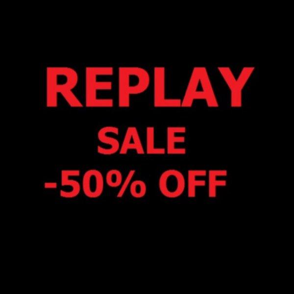 Bis zu -50% bei REPLAY