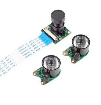 Infrared Night Vision Surveillance Camera + 2 Infrared Light For Raspberry Pi Arduino 20,99 € +livraison gratuite