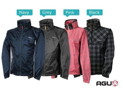 AGU Kangourak Regenjacke (wind- und wasserabweisend) in 4 Farben (XXS - XXL) für 19,95€ zzgl. 5,95€ Versand @iBOOD