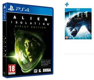 Alien: Isolation Ripley Edition (Xbox One/PS4) inkl. Alien Anthology (Blu-ray) für 41,50€ @ Game