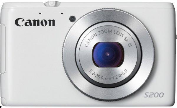 Canon PowerShot S200 für 179€ (-13%) @ Amazon