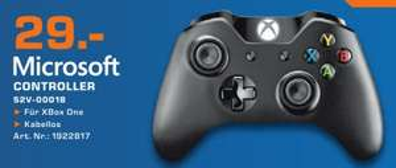 MICROSOFT Xbox One Wireless Controller [Saturn Hamburg]