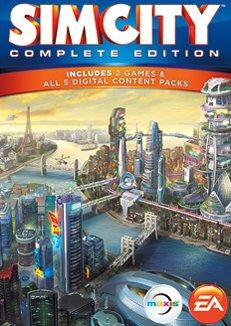 Origin: SimCity /SimCity Complete Pack 9,99 bzw. 14,99