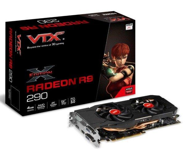 VTX3D Radeon R9 290 x-Edition 4096MB GDDR5 bei Pixmania 222,40