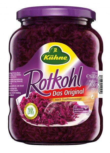 [BUNDESWEIT] Kühne Rotkohl Original 720g ab 0,16€ (Angebote + Scondoo)