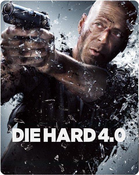 Die Hard 4.0 - Zavvi Exclusive Limited Edition Steelbook inkl. Vsk für ~ 5,64 €  (Tiefstpreis) > [zavvi.uk]