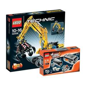 [lokal Bonn] LEGO Raupenbagger 42006 + Power Funktions Set 8293 @ Kaufhof