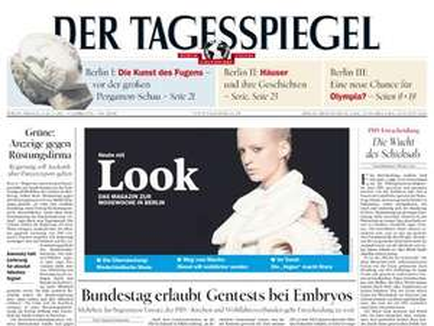 Tagesspiegel bis 26.10.11 auf dem iPad kostenlos
